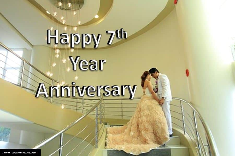 7th Wedding Anniversary Wishes for Husband