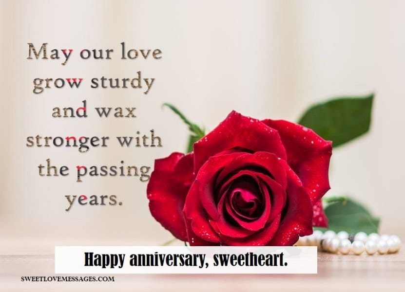 Anniversary Quotes for Her from the Heart