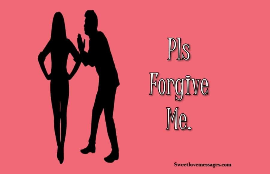 Forgiveness Message for Girlfriend