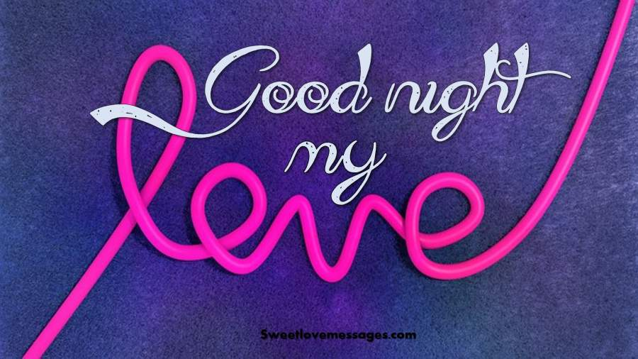 Good Night Message for My Husband