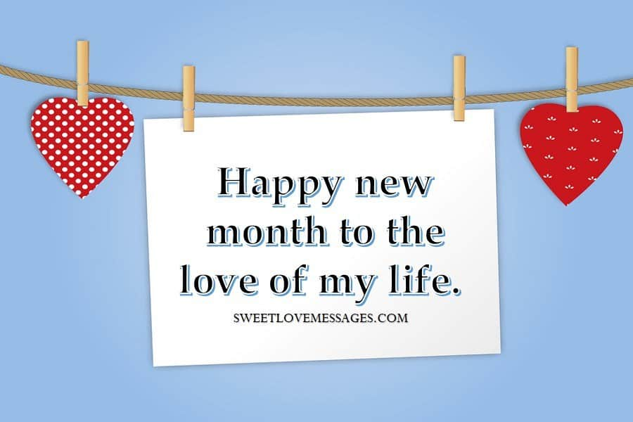 Happy New Month Prayers to My Love