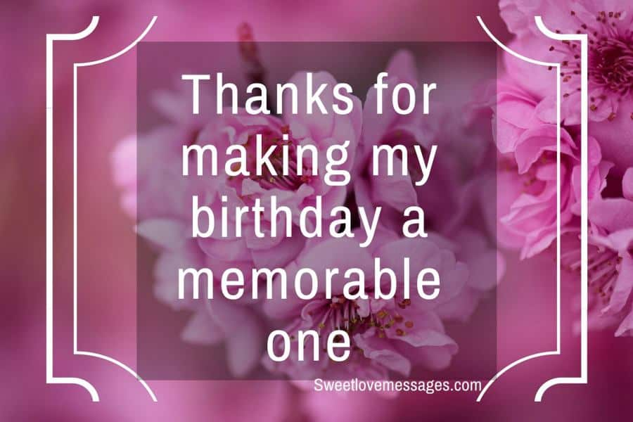 Thank You Messages for Friends on My Birthday
