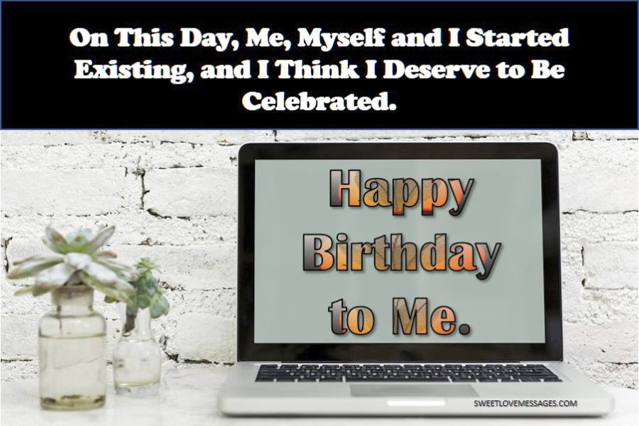 best birthday quotes for myself sweet love messages