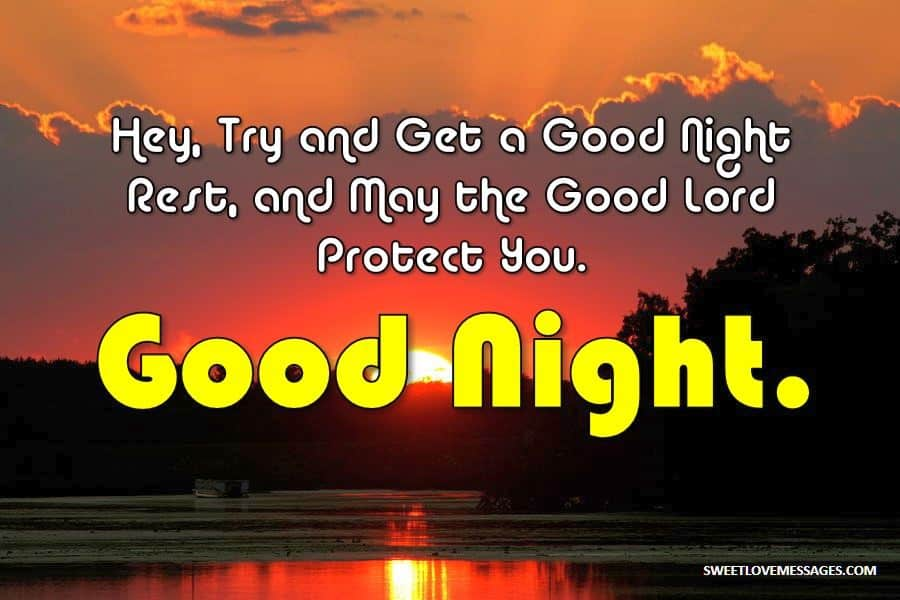 Good Night Christian Messages