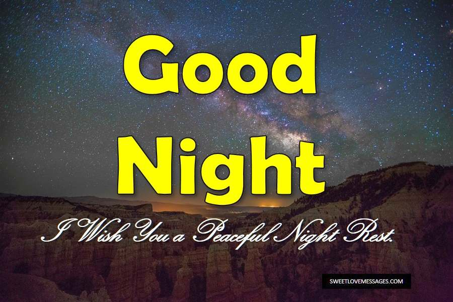 Good Night Darling Messages