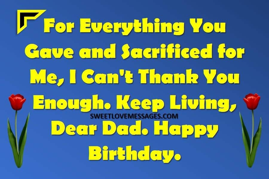 Happy Birthday to My Father