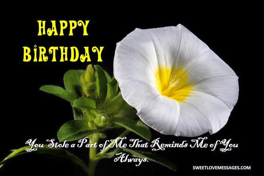 Heart Touching Birthday Wishes fo Ex Boyfriend