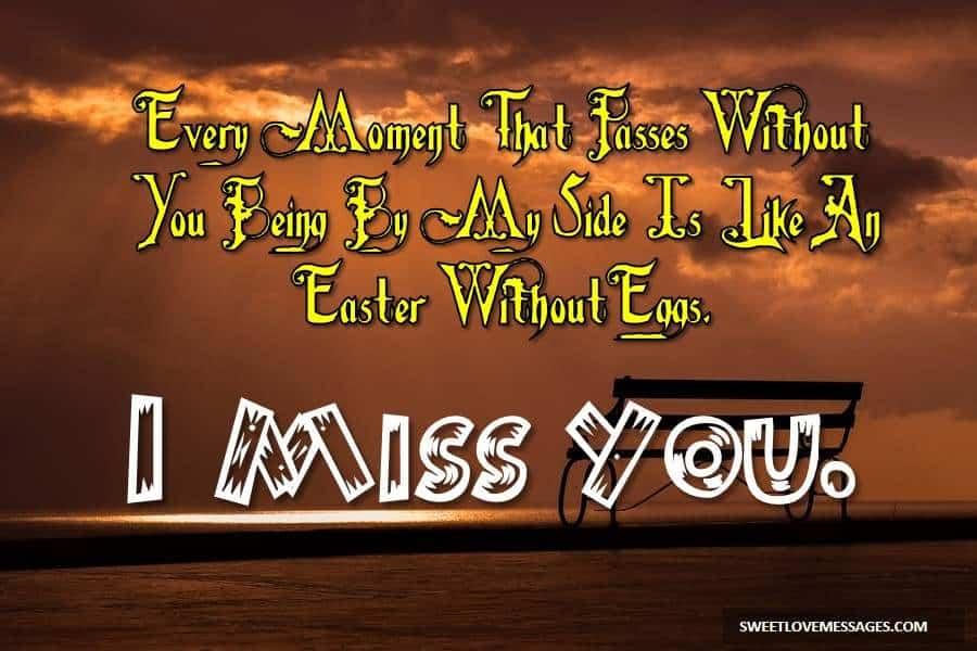 I Miss You Messages for Girlfriend