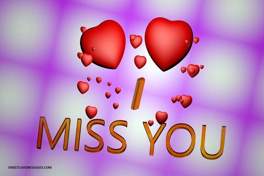 Miss You so Much My Love