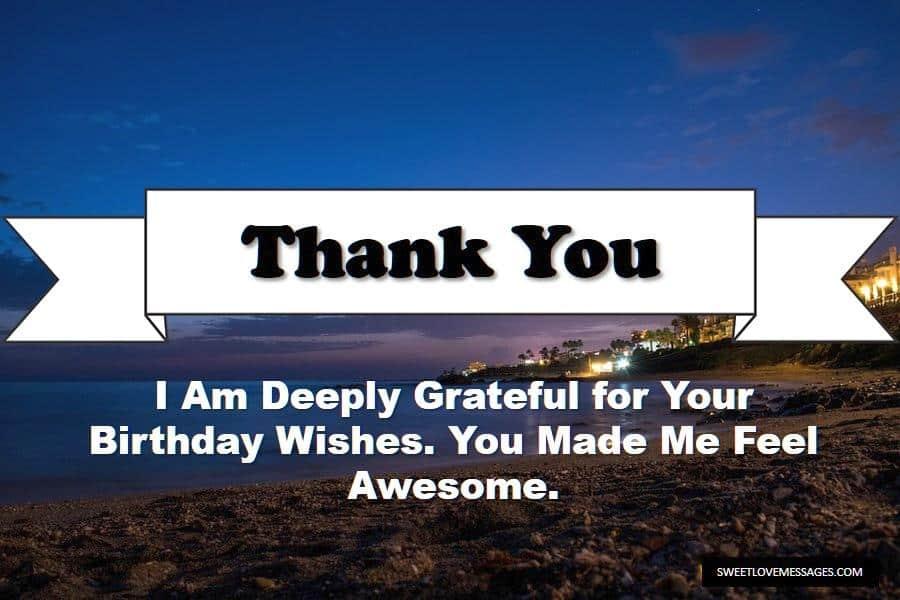 Thanks for Celebrating My Birthday