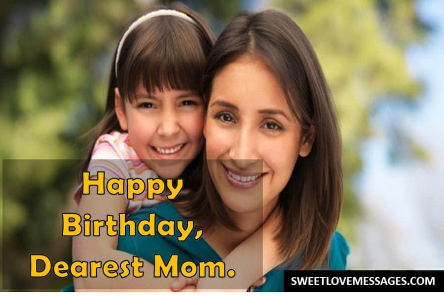 Things to Say to Your Mom on Her Birthday