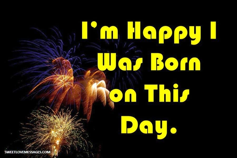 Today Is My Birthday Status