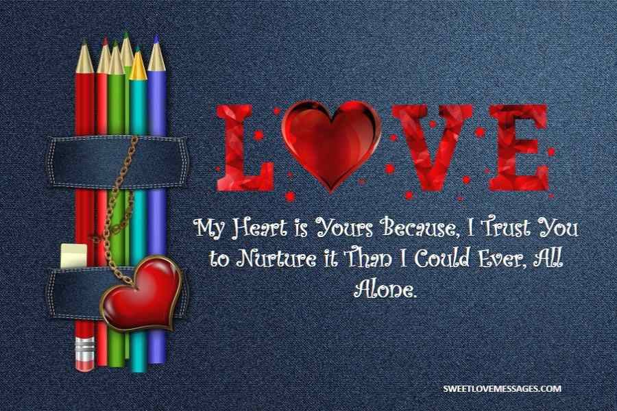 You Own My Heart Quotes
