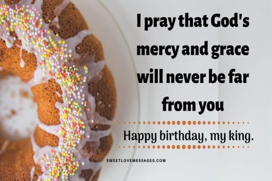 Happy Birthday Prayers for Him
