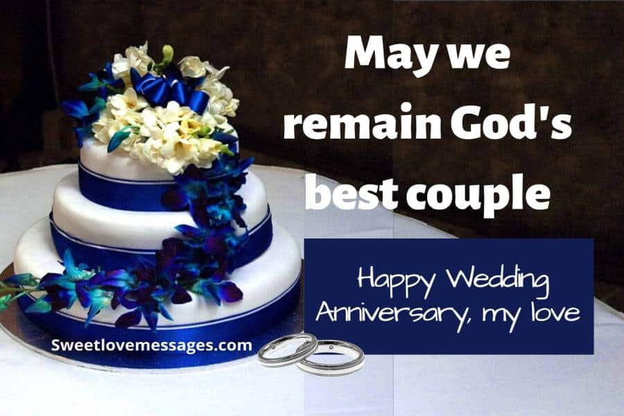 Religious Wedding Anniversary Wishes for Husband