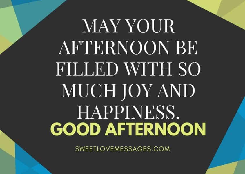 Good Afternoon Sweetie