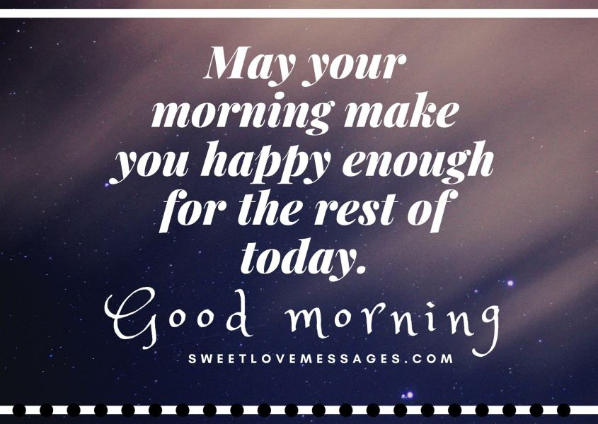 Good Morning Inspirational Prayer