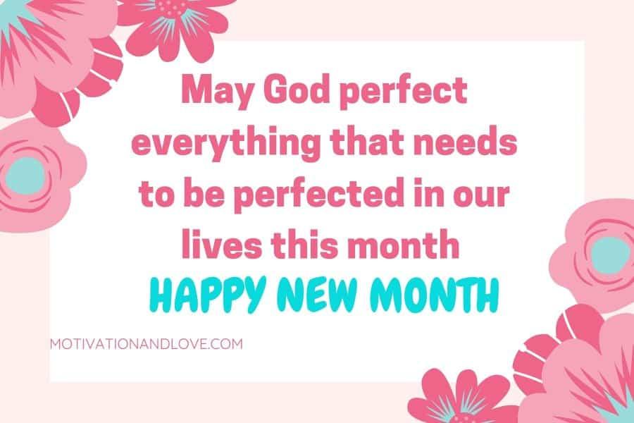 Happy New Month Status