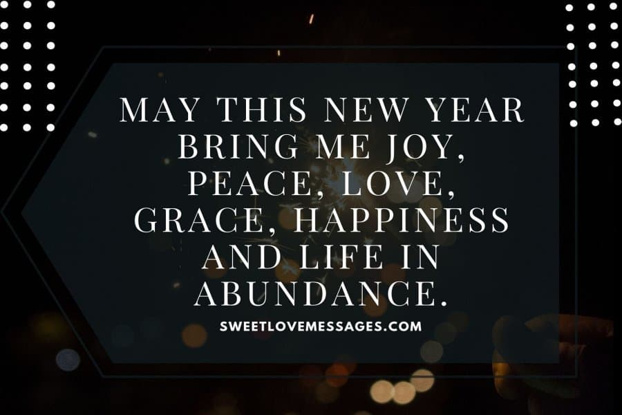 New Year Wishes for Myself