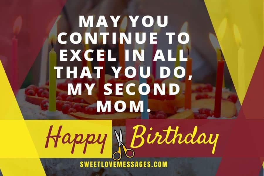 Happy Birthday to My Second Mom